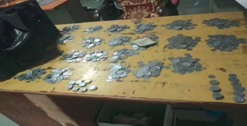 Man gives alimony of Rs. 24,600 in coins, court adjourns case for counting.