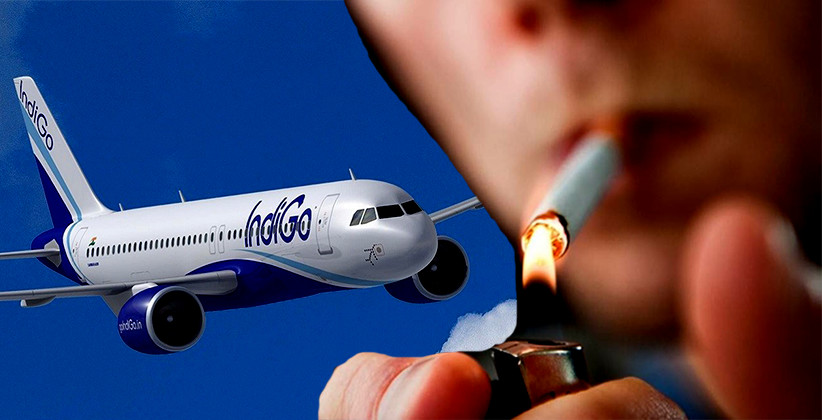 Jharkhand Man Arrested For Smoking In Indigo Flight, Could Face Jail Or Rs 1 Lakh Fine