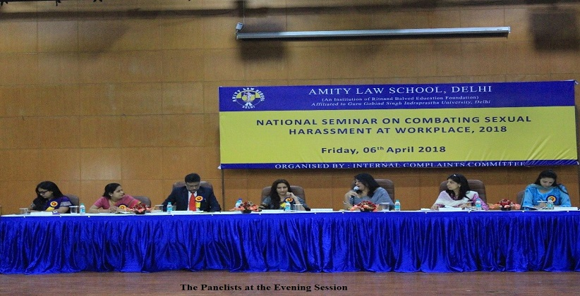 Amity Law School, Delhi organized National Seminar on Sexual Harassment at Workplace