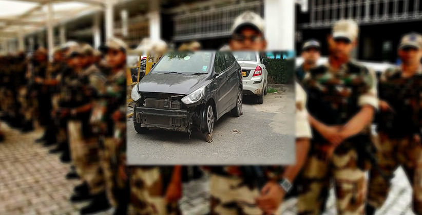 Driver under influence trying to barge into Delhi airport was nabbed by CISF
