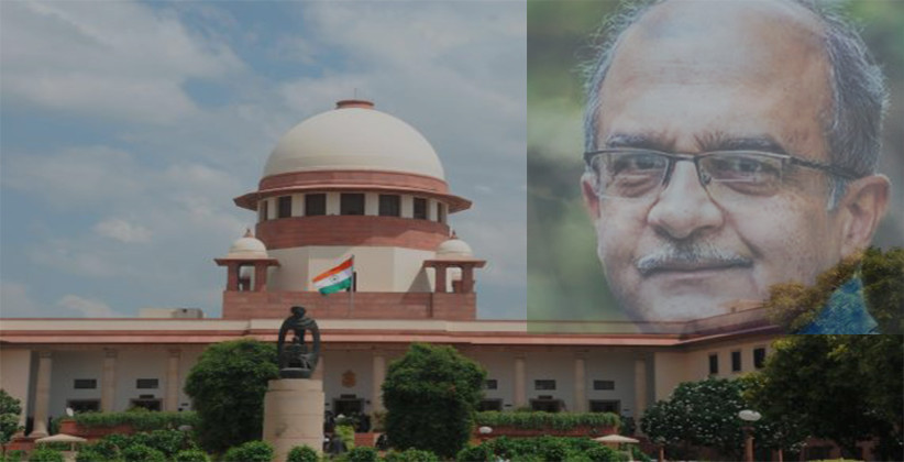 SC Issues Notice To Prashant Bhushan On Contempt Petitions Filed By Attorney General & Centre