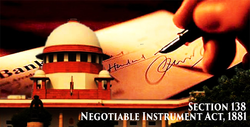 Section 138 NI Act: Delay In Instituting The Complaint Can Be Condoned If Sufficient Cause Is Shown In The Complaint: SC