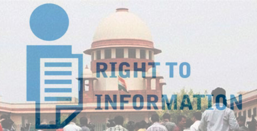 If Person Seeks Information Under Right To Information, Then Payment Has To Be Sought As Per RTI Rules Only: SC [Read Order]