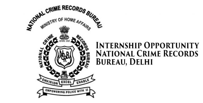 Internship Opportunity @ National Crime Records Bureau, Delhi