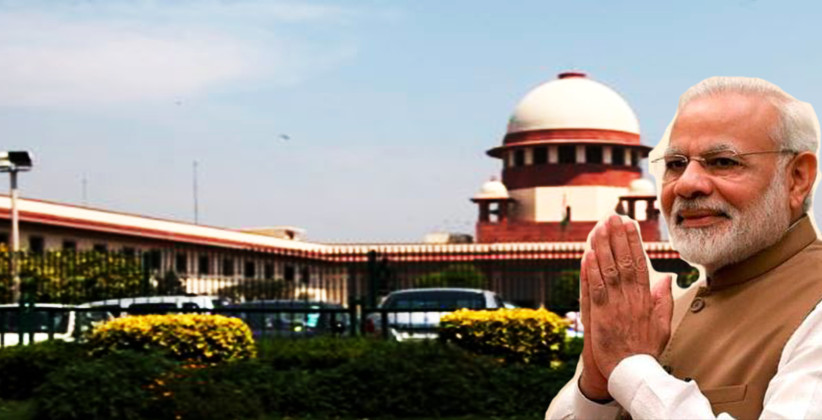 Plea Filed In SC Seeking SIT Probe On Plot Allotted To Narendra Modi