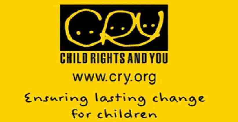 Child Rights Research Fellowship @ CRY. [Apply By September 30]
