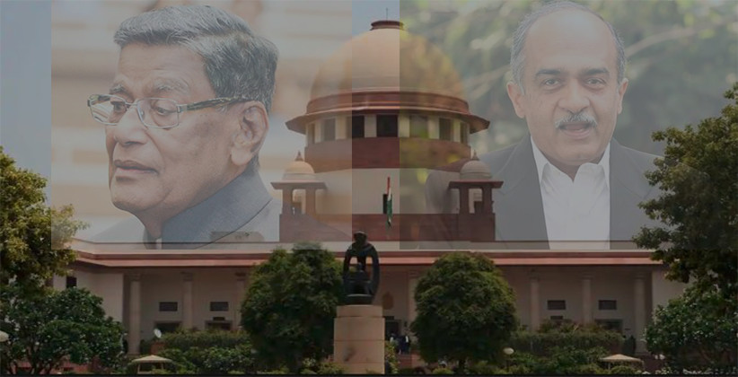 After AG KK Venugopal, Centre files Contempt Petition against Prashant Bhushan [Read Petition]