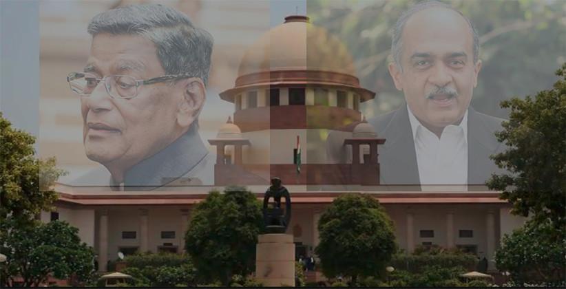 After AG KK Venugopal, Centre files Contempt Petition against Prashant Bhushan [Read Petition]