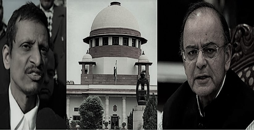SC Rejects PIL Against Arun Jaitley, Imposes Rs 50,000 Fine On ML Sharma