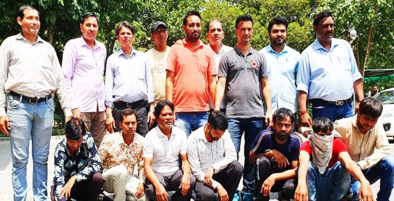Int'l crime syndicate busted, 7 arrested, recovered phones worth Rs 60 lacs
