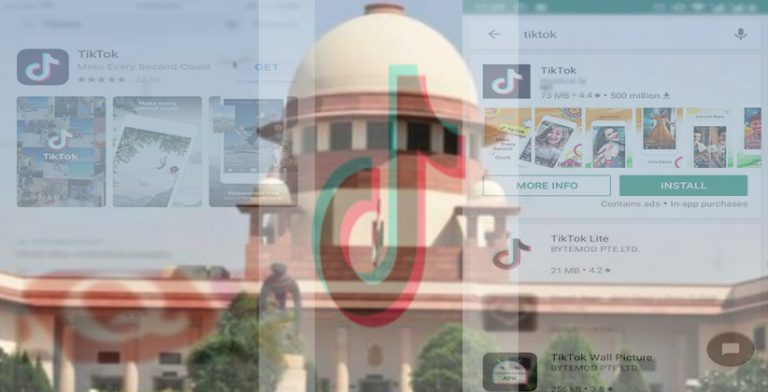Madras HC Order Directing Centre To Ban Mobile App TikTok Challenged In Supreme Court
