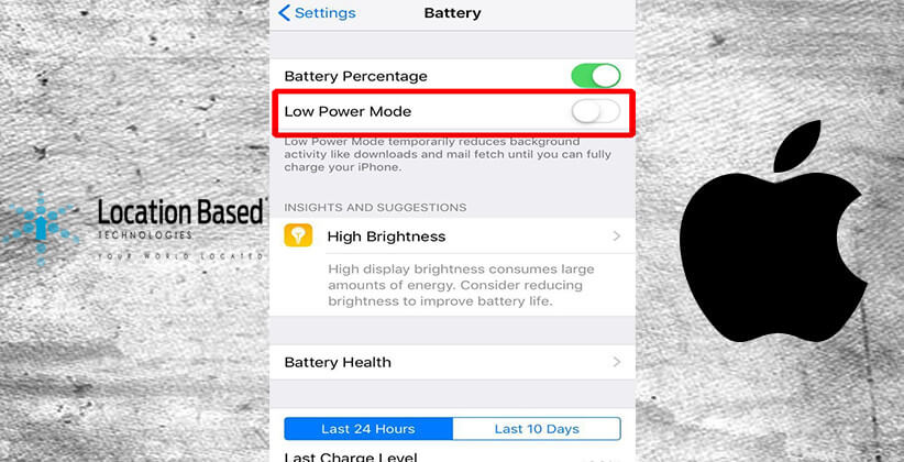 Suit Filed Against Apple For Patent Violation Over Low-Power Mode On iOS Devices