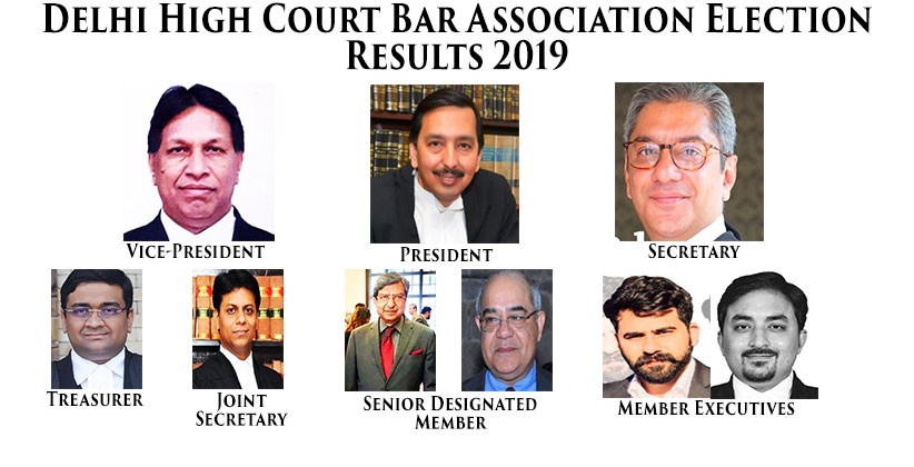Delhi High Court Bar Association Election Results 2019 [Read Notice]