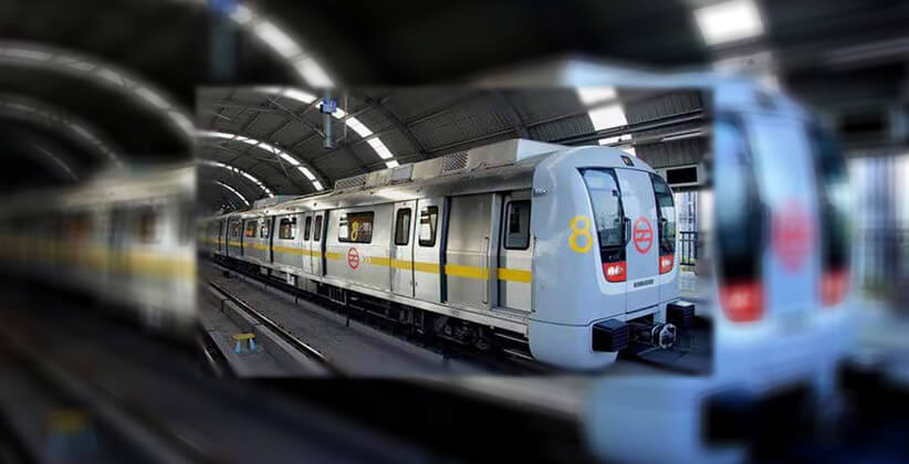 CISF Personnel Foils Attempt Of Suicide At Metro Station