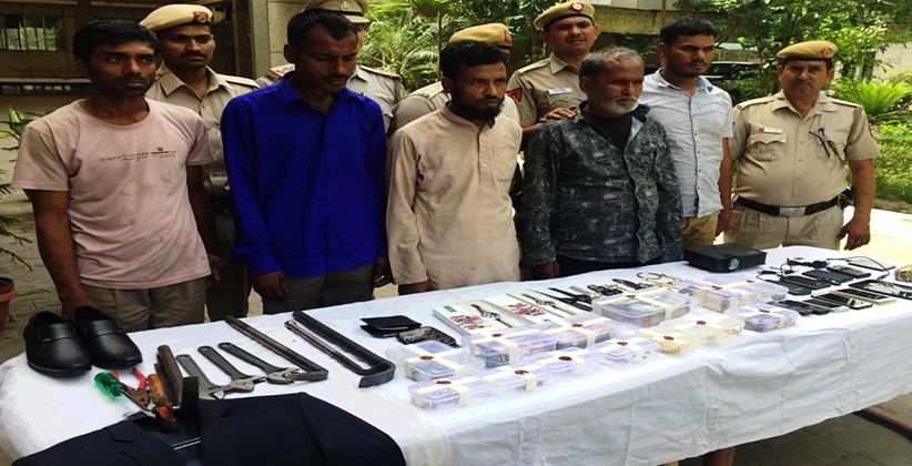 5 Burglars With Bangladeshi Connect Caught, Big Booty Recovered