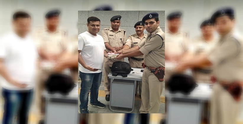 CISF Restores Lost Bag Containing Cash, Valuables