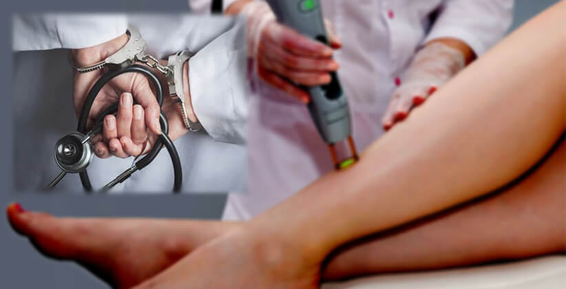 Doctor Booked For Allegedly Filming Female Client During Hair Removal Treatment