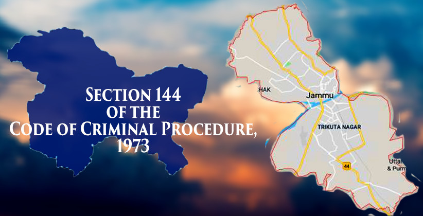 Sec 144 Imposed In Jammu From 6 Am Today