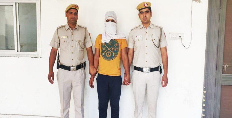 Man Robbed Greengrocer, Nabbed