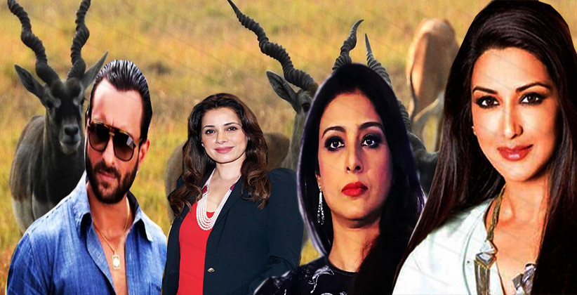 Rajasthan HC Issues Fresh Notices To Saif, Sonali, Neelam, Tabu In Blackbuck Poaching Case