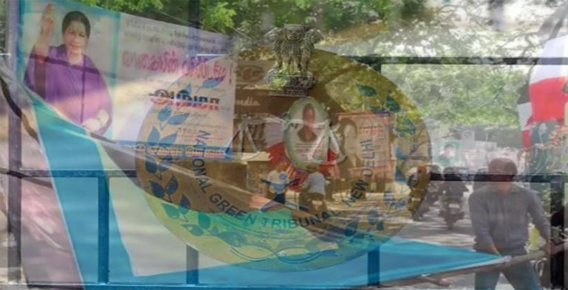 Plea Filed In NGT Seeking Ban On PVC Hoardings During Polls