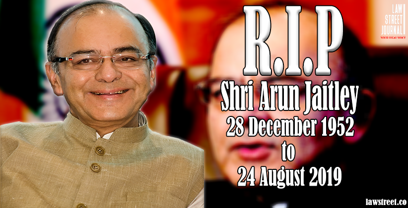 Former Union Finance Minister Arun Jaitley Cremated With State Honours