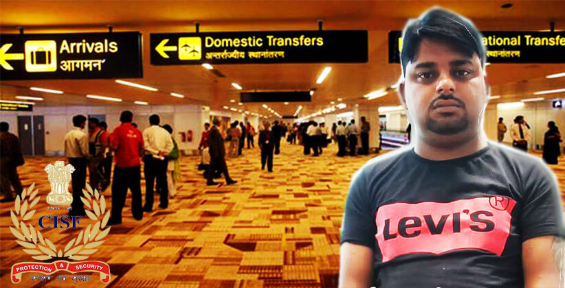 CISF Catches Conman At Delhi Airport