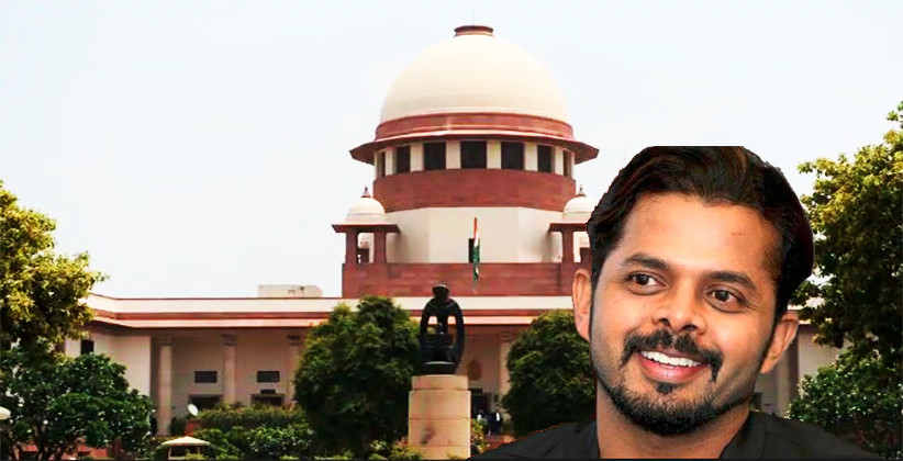 Supreme Court Sets Aside Life Ban On Former Cricketer Sreesanth