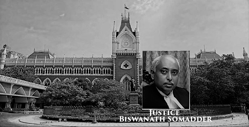 Justice Biswanath Somadder To Be Acting Chief Justice Of Calcutta HC From Jan 1 [Read Notification]