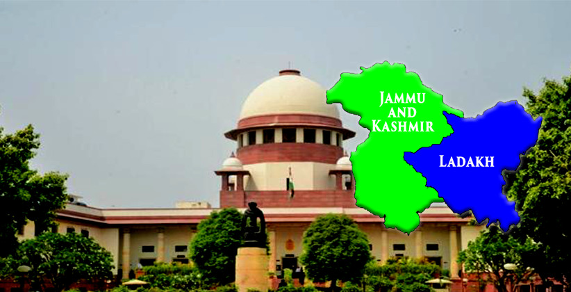 Plea In Supreme Court Challenges Presidential Order On Article 370 of Indian Constitution