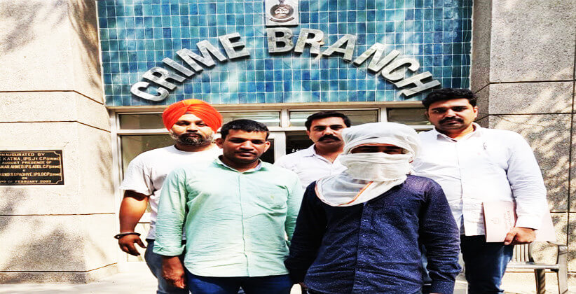 Spl. Cell Nabs Two Gangsters Of Nasir Gang After Brief Shootout, Involved In North East Delhi's Gangwar