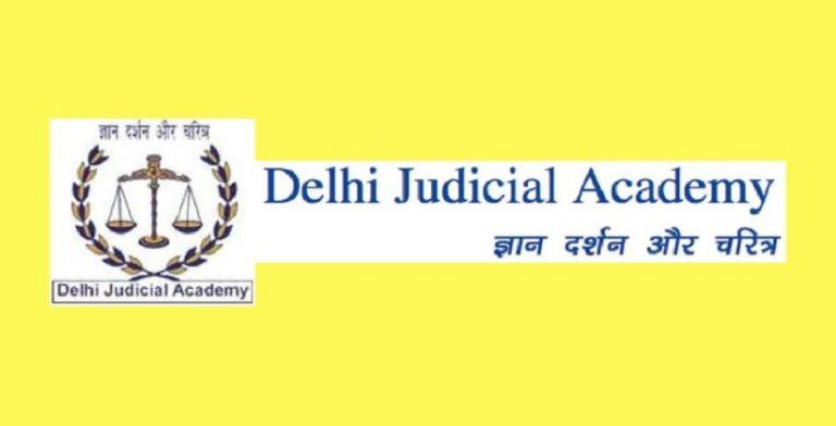 Internship Opportunity: Field Investigator @ Delhi Judicial Academy [Walk-In Interview On October 4]
