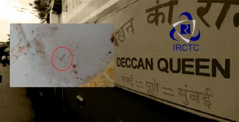 Passenger Finds Worms In Omelette Served Aboard Deccan Queen, Files Complaint To IRCTC