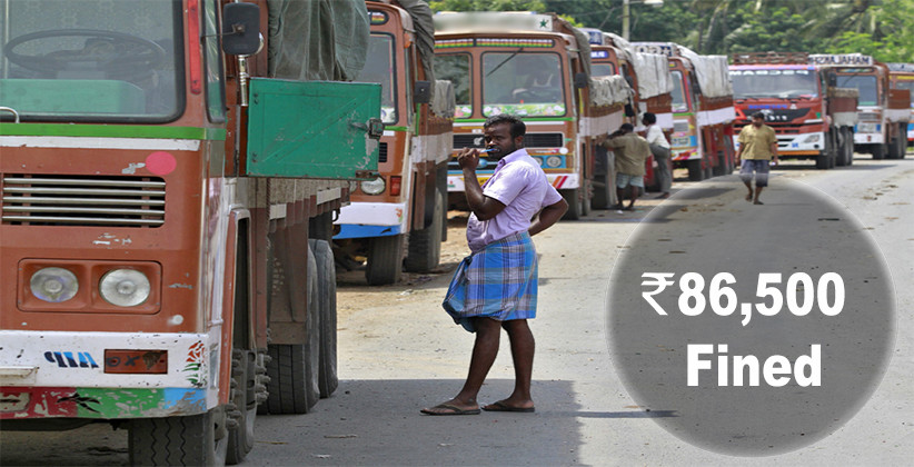 Odisha Truck Driver Fined Rs 86,500, The Highest Ever Under Motor Vehicles Act