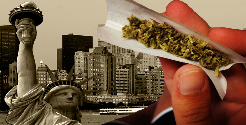 Marijuana Officially Decriminalized In New York