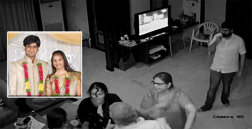 Daughter-In-Law Of Retired HC Judge Alleges Domestic Violence, Releases CCTV Footage