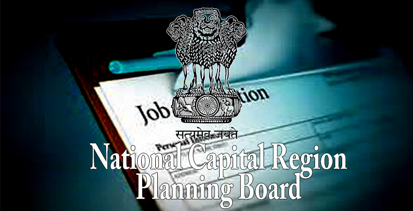 Job Post: Law Officer At National Capital Region Planning Board, Delhi [Apply By Oct 25]