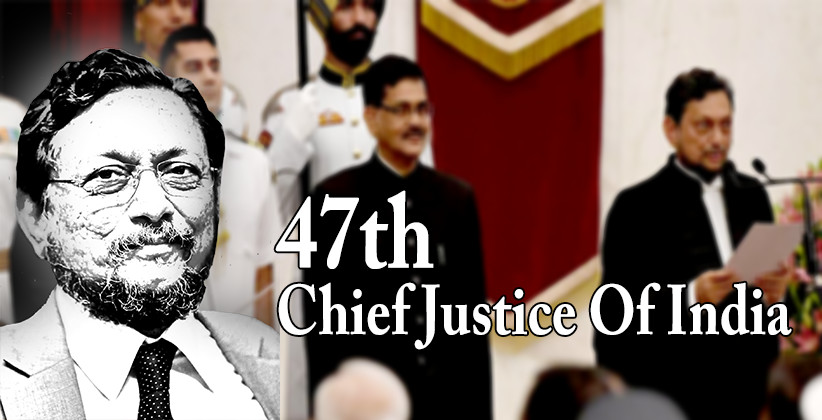 Justice SA Bobde Takes Oath As 47th Chief Justice Of India, succeeds Justice Ranjan Gogoi