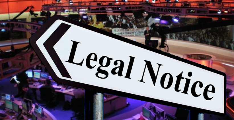Legal Notice Served To India News Channel For Spreading False News About Tis Hazari Violence [Read Legal Notice]