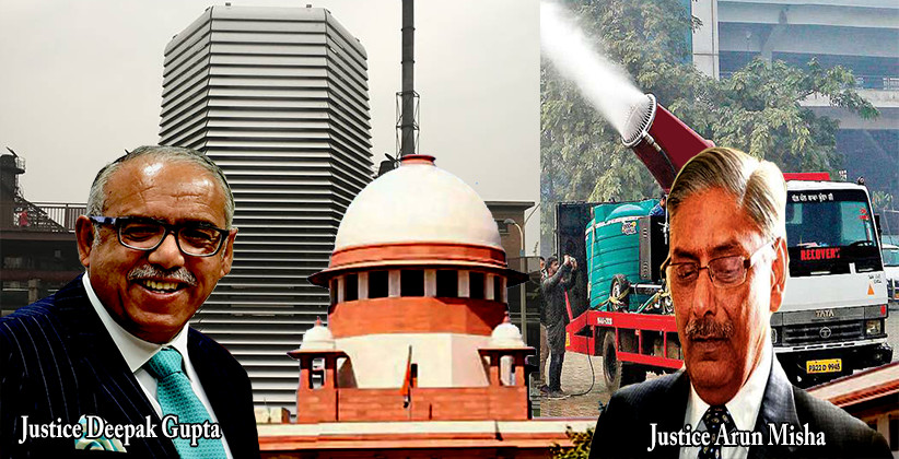 Use Anti-Smog Guns, Install Smog Purifying Towers, Provide Potable Water: SC Directs Govt To Tackle Pollution [Read Order]