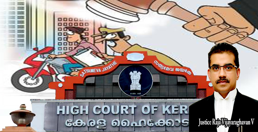 Police Shall Not Pursue In A 'Hot Chase' Two Wheeler Riders For Booking Them For Not Wearing A Helmet: Kerala HC [Read Order]