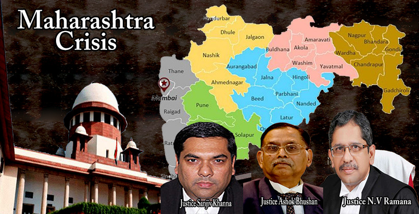 Maharashtra Crisis: SC Orders Floor Test Before 5 pm On Nov 27