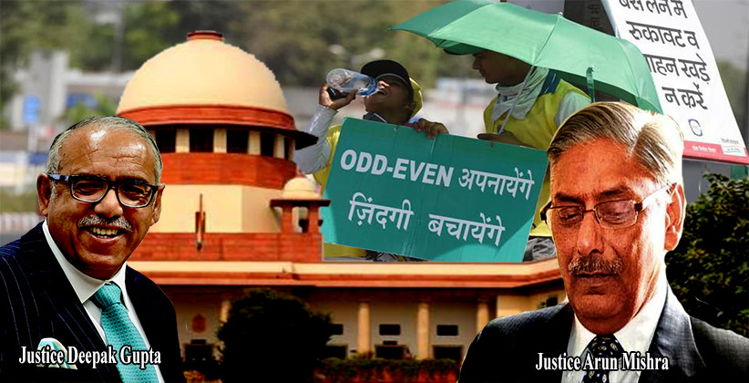 Delhi Odd-Even Scheme: SC Seeks Report From Delhi Govt Explaining The Logic Behind The Scheme [Read Order]