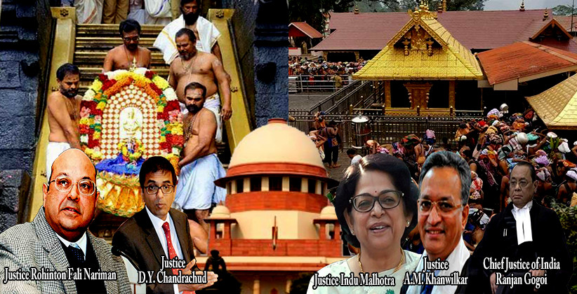 Breaking: Supreme Court Refers Sabarimala Review Petitions To Larger Bench
