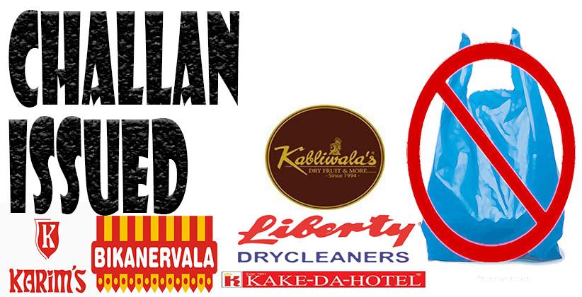 Noida: Challan Issued Against Bikanervala, Kake Da Hotel And Karim's Restaurant For Using Plastic