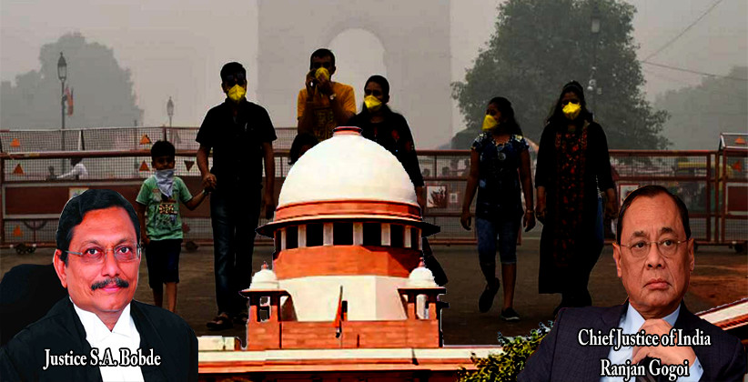 Delhi Pollution: SC Pulls Up Centre, Directs It To Explore Japanese Technology To Combat Air Pollution