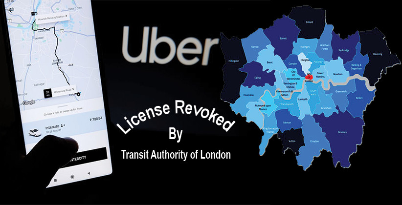 Uber Loses License In London: 43 Fake Drivers Undertook 14,000 Trips