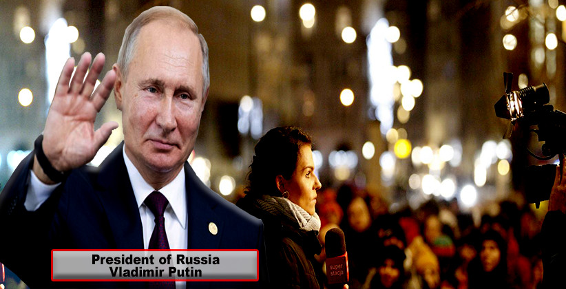 Russian President Passes Law To Label Citizens As Foreign Agents