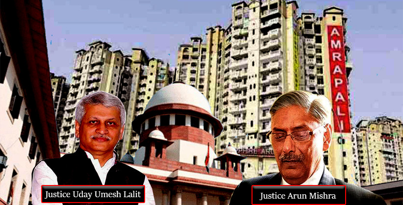 Supreme Court To Hear Amrapali Case Tomorrow [Read Previous Judgment]