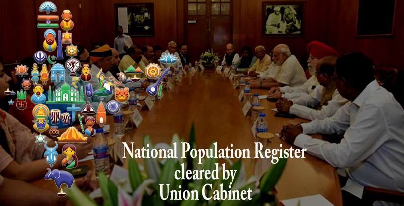 Union Cabinet Clears 3941 Cr Project For National Population Register